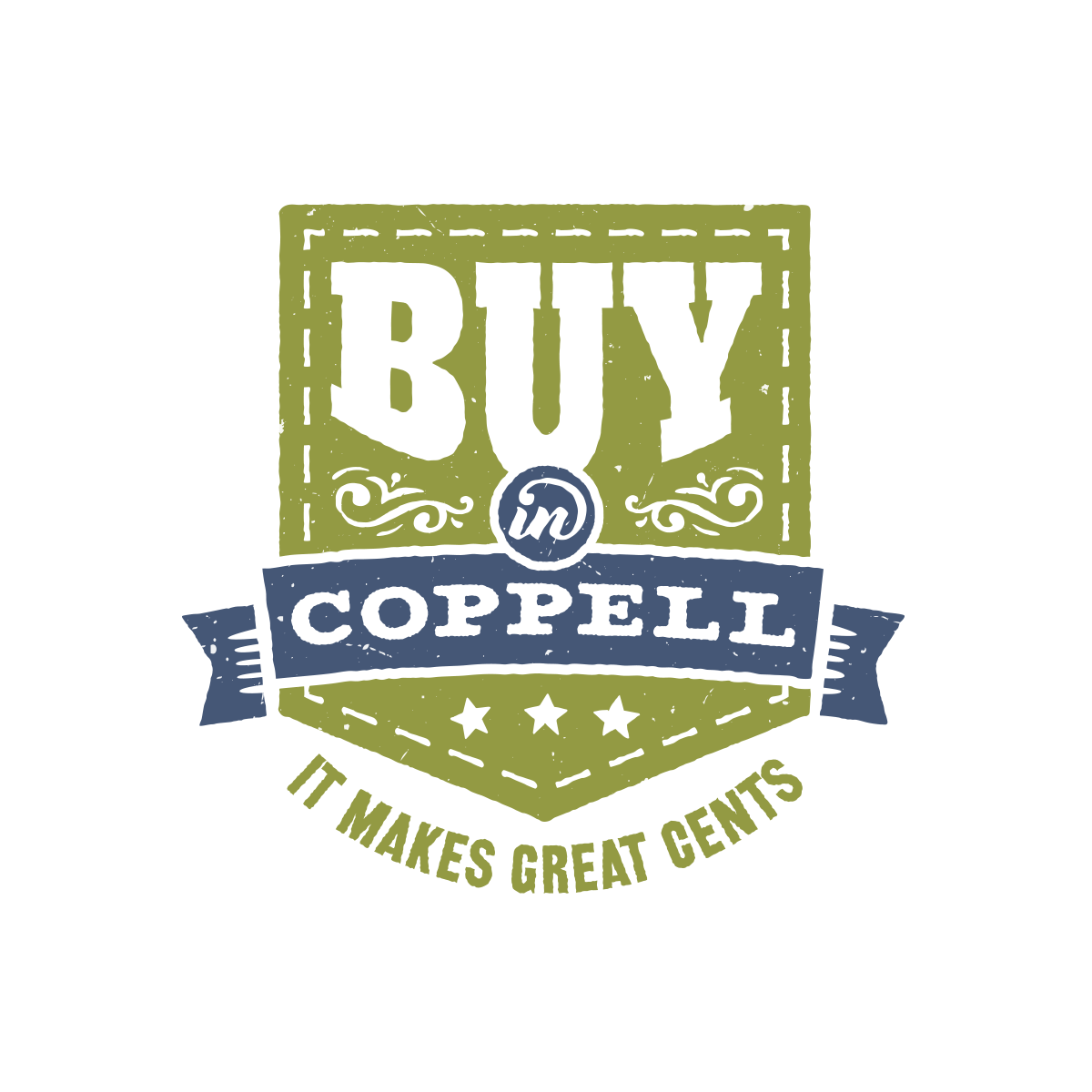 Logo for Buy in Coppell Campaign