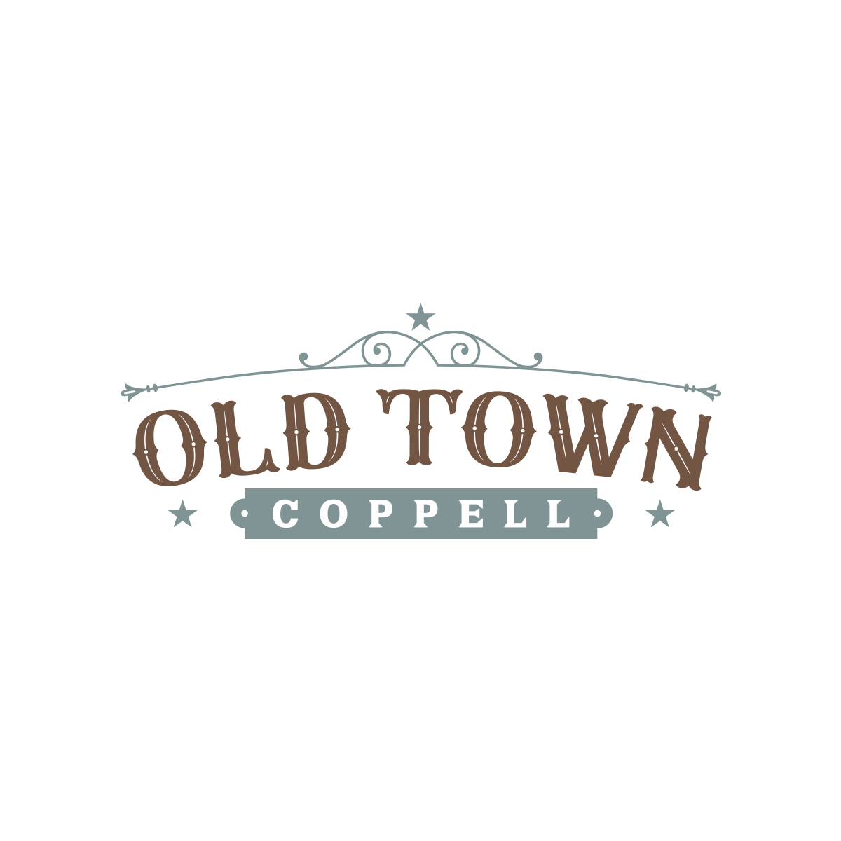 Old Town Logo for City of Coppell
